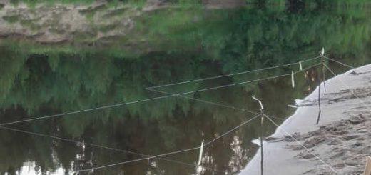 Вечерняя рыбалка на донки в июле видео