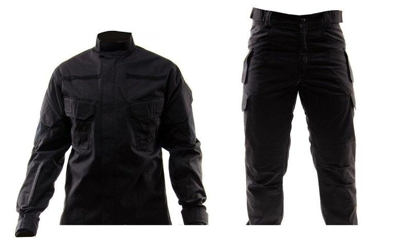 тактическая одежда черная