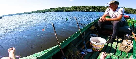 Фарватерная рыбалка на Волге