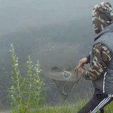 Ловля карпа на кастинговую сеть