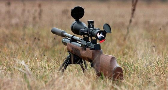 Применение пневматического оружия