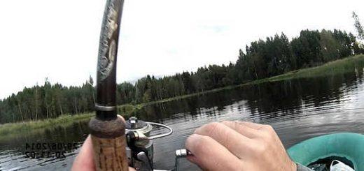 Рыбалка на спиннинг летом видео