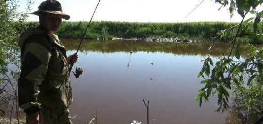 Рыбалка в Сибири видео