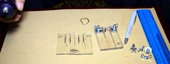 Форма для отливки силиконовых приманок