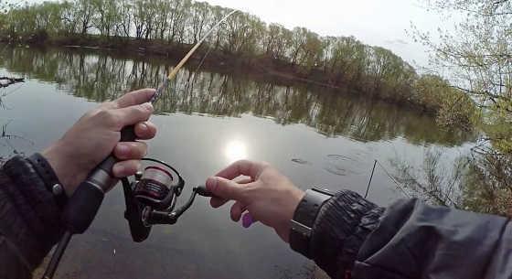 Ловля окуня на ультралайт видео