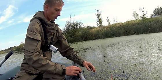 Осенняя рыбалка на жерлицы