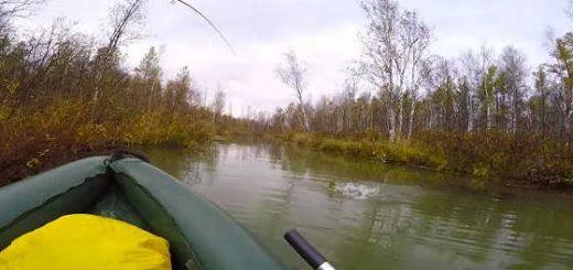 Рыбалка осенью на неогруженную резину
