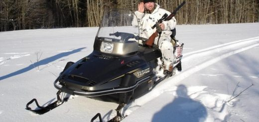 Снегоход Yamaha для охоты