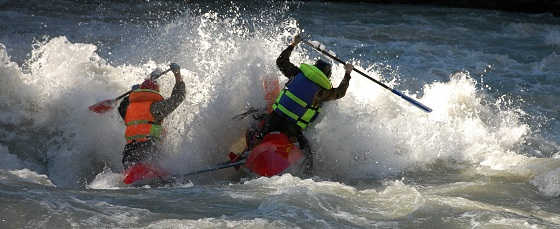 Сплав на катамаранах по горным рекам Кавказа