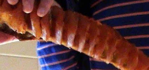 Юкола с перцем из щуки