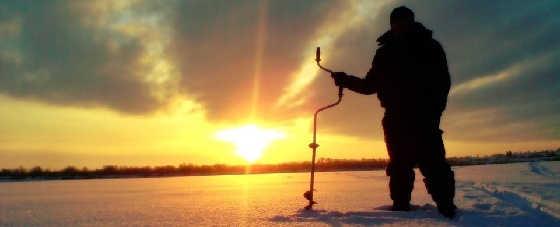 Рыбалка зимой в Карелии