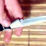 Как заточить нож до остроты бритвы