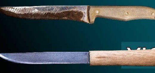 Как сделать Макири из кухонного ножа