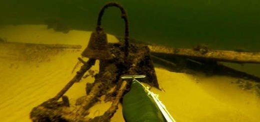 Подводная охота: затонувшие корабли