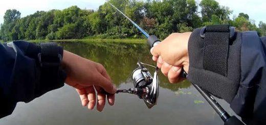 Рыбалка на спиннинг в черте города