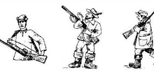 Как правильно носить оружие на охоте