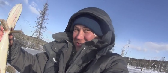 Перволедье в Сибири 2018