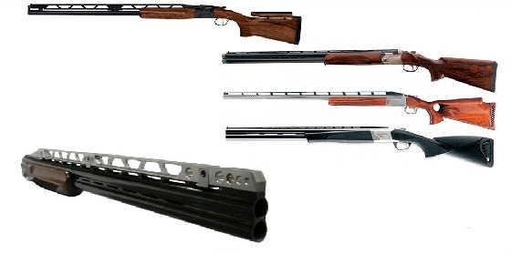 Прицельные планки гладкоствольных ружей