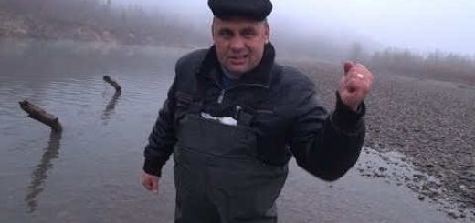Рыбачим перемётами на Горной реке Кавказа