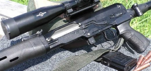 Стрельба из ТИГР на 300 метров
