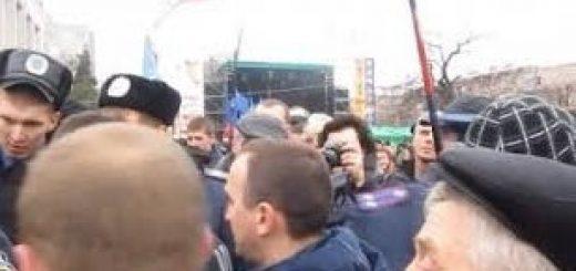 Акция протеста в Черкассах