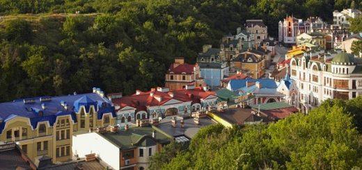 Исторические застройки Киева
