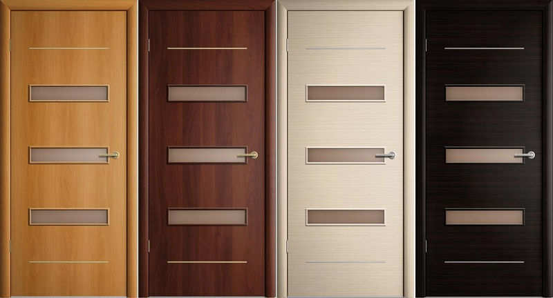 Ламинированные межкомнатные двери