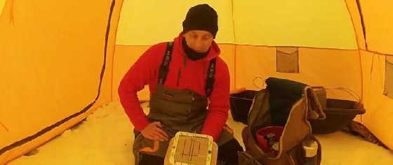 Обогрев палатки зимой