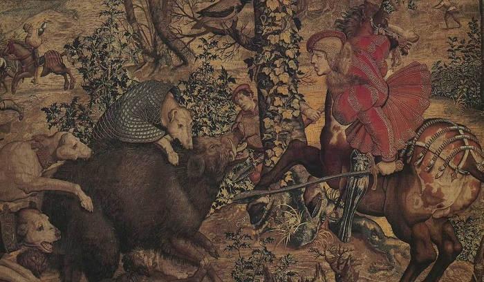 Охота в средневековой Европе