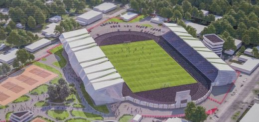 Реконструкция стадиона «Спартак» в Житомире