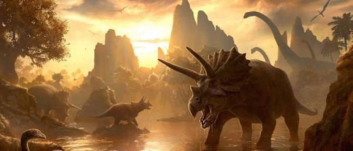 Динозавры умерли от астероида