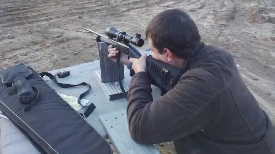 Как пристрелять карабин перед охотой
