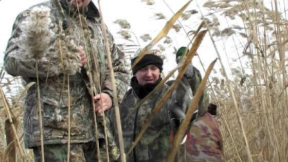 Охота в Астрахани в ноябре 2018