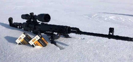 TG3: отстрел на 100 метров