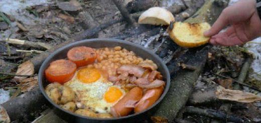 Английский завтрак в лесу