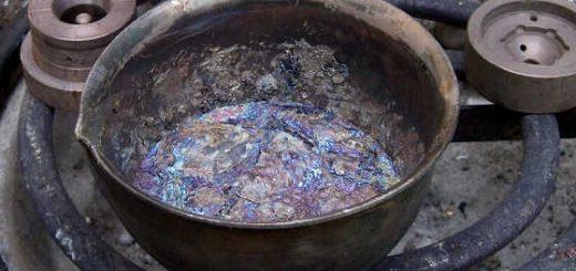 Подготовка свинца для литья дроби