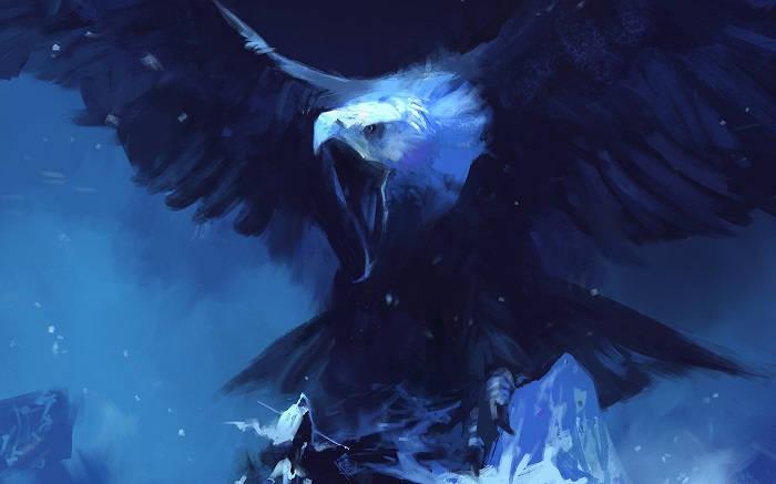 Синий орел
