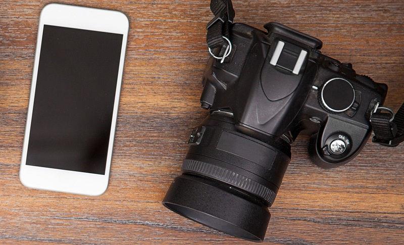 Чем для съемки фотоаппарат лучше камеры смартфона