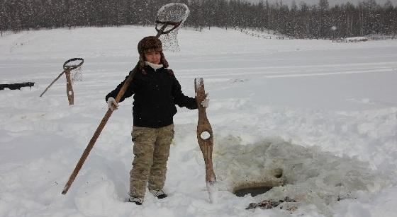Куйуур это древняя традиционная рыбалка якутов на карася