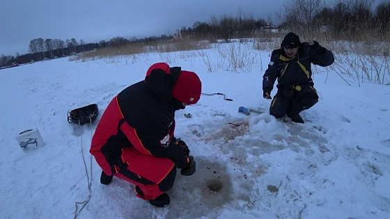 Наезд инспекторов Рыбнадзора на Ладожском Озере