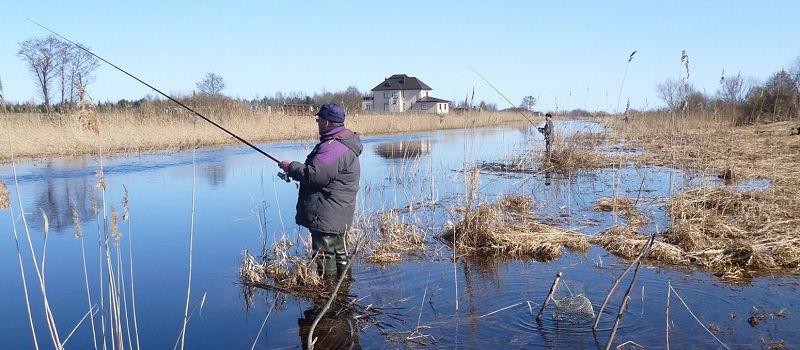 О весенней рыбалке