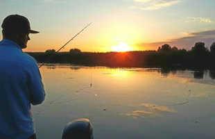 Рыбалка на Волге на базе Фартовый