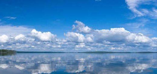 Рыбалка на озере в Карелии