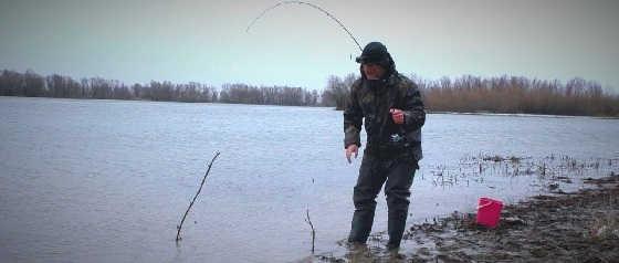 Рыбалка весной на донку