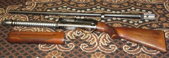 Советские и российские полуавтоматические ружья