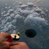 Вечерняя рыбалка в Якутии