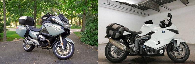 Мотоциклы BMW R 1200 RT и K 1300 GT