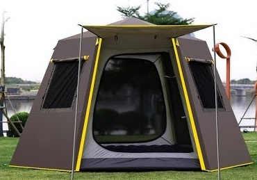 Обзор 5-ти местной автоматической палатки SAMCAMEL