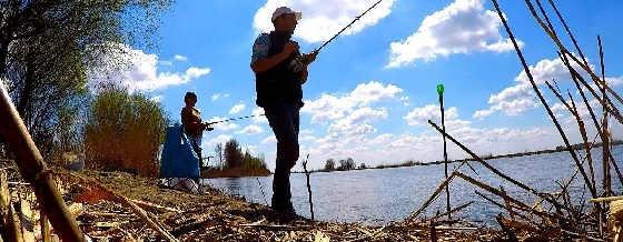 Ловля ходовой Астраханской воблы