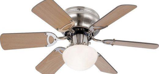 Потолочная люстра-вентилятор